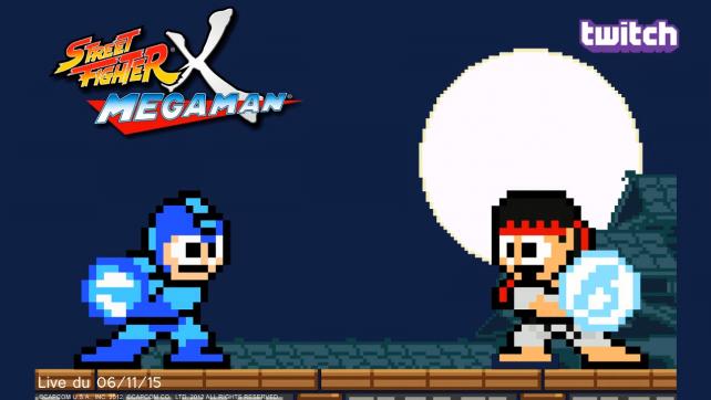 Live_06112015-Street Fighter X Megaman_Twitch